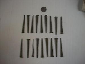 9  Large 2 1/2 inch Vintage Coffin Nails Dark Work Hoodoo Voodoo Wicca Santeria