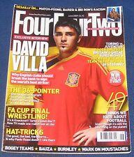 FOURFOURTWO MAGAZINE JUNE 2009 - DAVID VILLA