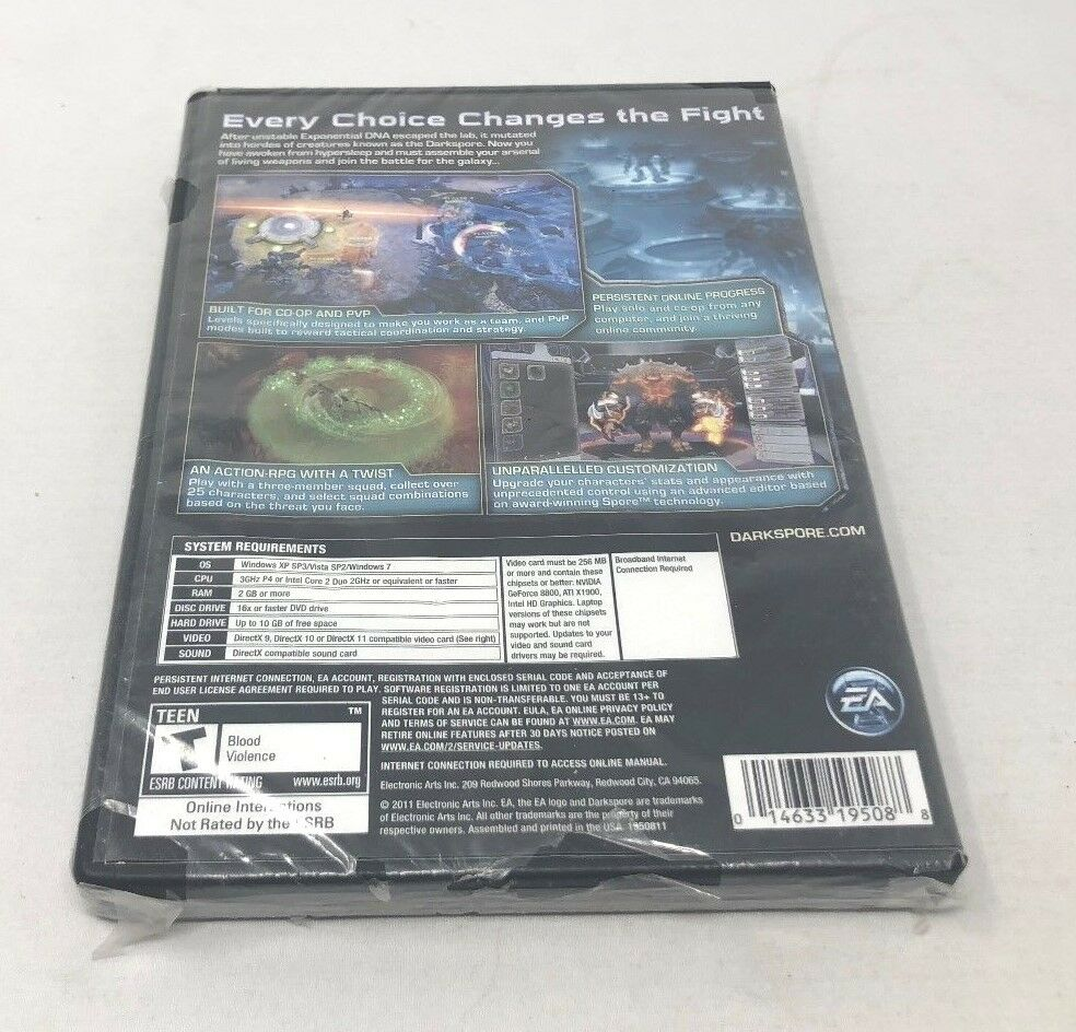 Darkspore (Limited Edition) (PC Games, 2011)