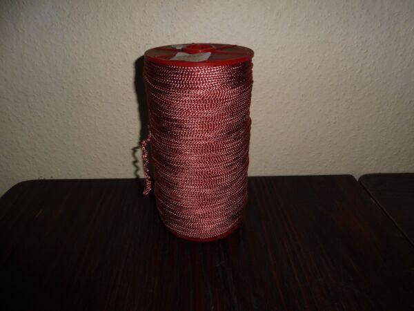 (0,05€/m) Altrosa/rosa Strick 0,1cm Gekordelt Ddr Opew 500m Auf Einer Rolle Starker Widerstand Gegen Hitze Und Starkes Tragen
