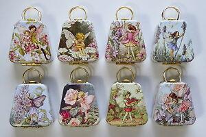 Flower Fairies Mini Tin Handbags -8 Designs To Choose From-Great Stocking Filler