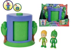 Simba pj máscaras transformación greg en Gecko basurillas verde