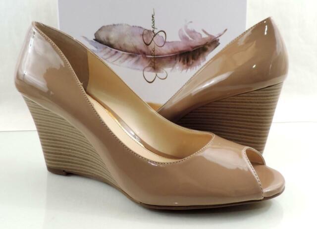 jessica simpson open toe pumps