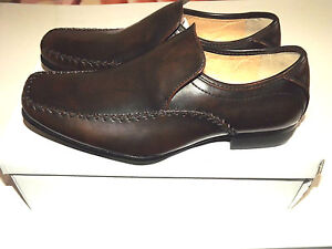 US Brass Comet//Custer//Stud M//B612A  Mens Boys Black Smart Slip On Loafer Shoes