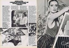 COUPURE DE PRESSE CLIPPING 1980 ANICEE ALVINA (2 pages)
