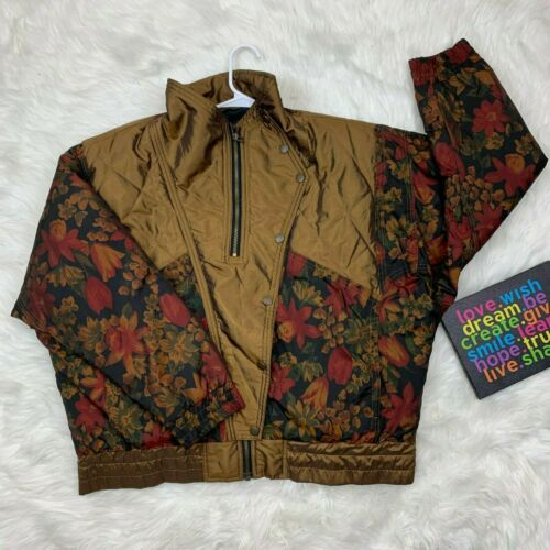 VIntage Andy Johns Womens Multi Retro Puffer Bombe