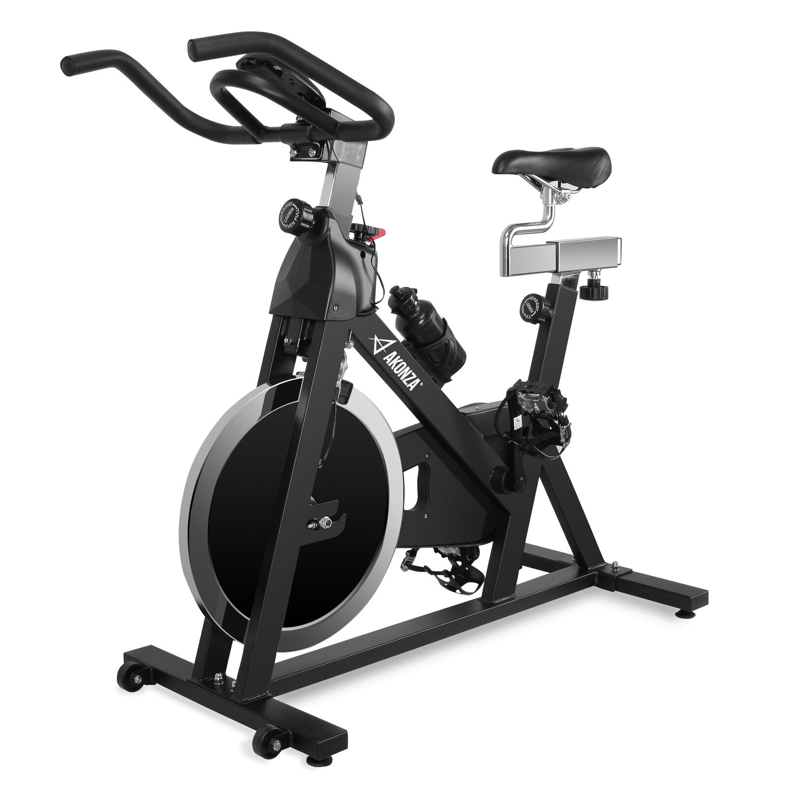Health and Fitness Indoor Cycling Stationary Exercise Bicycle w/ 40 lb Flywheel 1