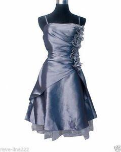 Robe-de-soiree-cocktail-ceremonie-mariage-T-34-a-54-GRIS-Evening-dress