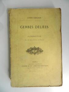 Autografiado por Autor Louis Perno Gavillas Deliees Didier 1865 E. O