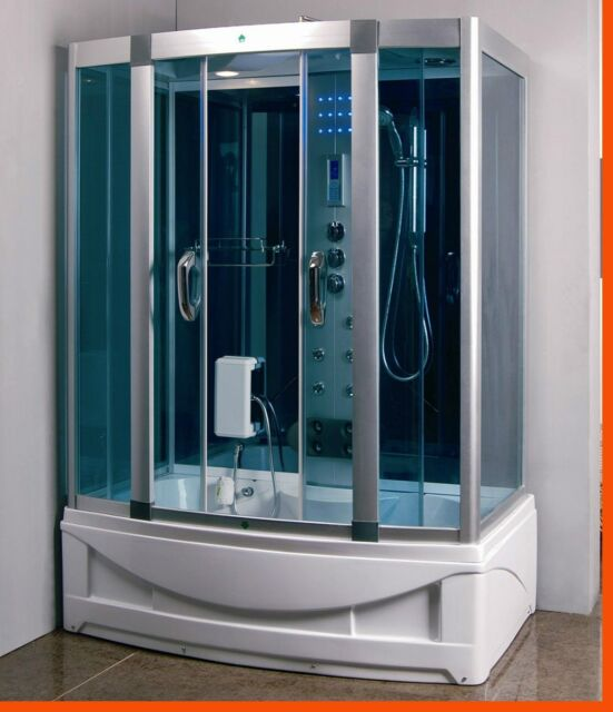 Steam Shower Enclosure w/ Whirlpool Tub.Bluetooth  .6 Year Warranty. Sale