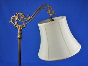 Floor lamp shade deluxe modified bell tailor made lampshades ebay image is loading floor lamp shade deluxe modified bell tailor made aloadofball Choice Image