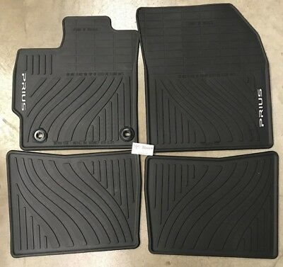 2012 2013 2014 2015 Toyota Prius All Weather Rubber Floor