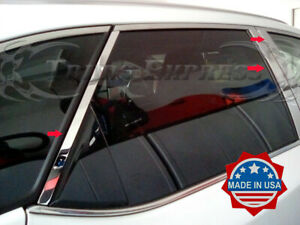 fit-2016-2020-Lexus-RX350L-RX450hL-Chrome-8Pc-Pillar-Post-Stainless-Trim-Door
