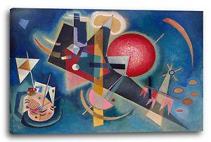 Wassily Kandinsky Leinwandbild Blaue Malerei