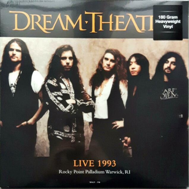 Dream Theater-Live 1993 Rocky Point Palladium Warwick RI Lp Vinyl 33 Giri Sealed