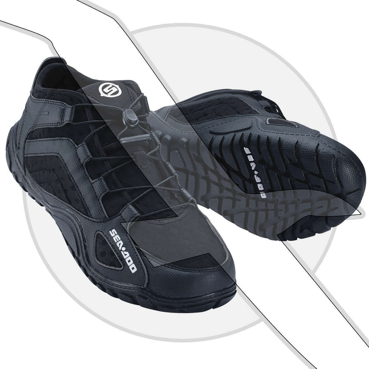 Sea Doo Watercraft Neoprene Riding Water shoes  Jet Ski Seadoo Jetski  best quality