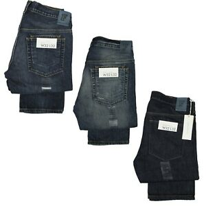French-Connection-Men-039-s-Slim-Fit-Mid-Rise-Jeans-Pant-In-Dirty-amp-Antique-Colours