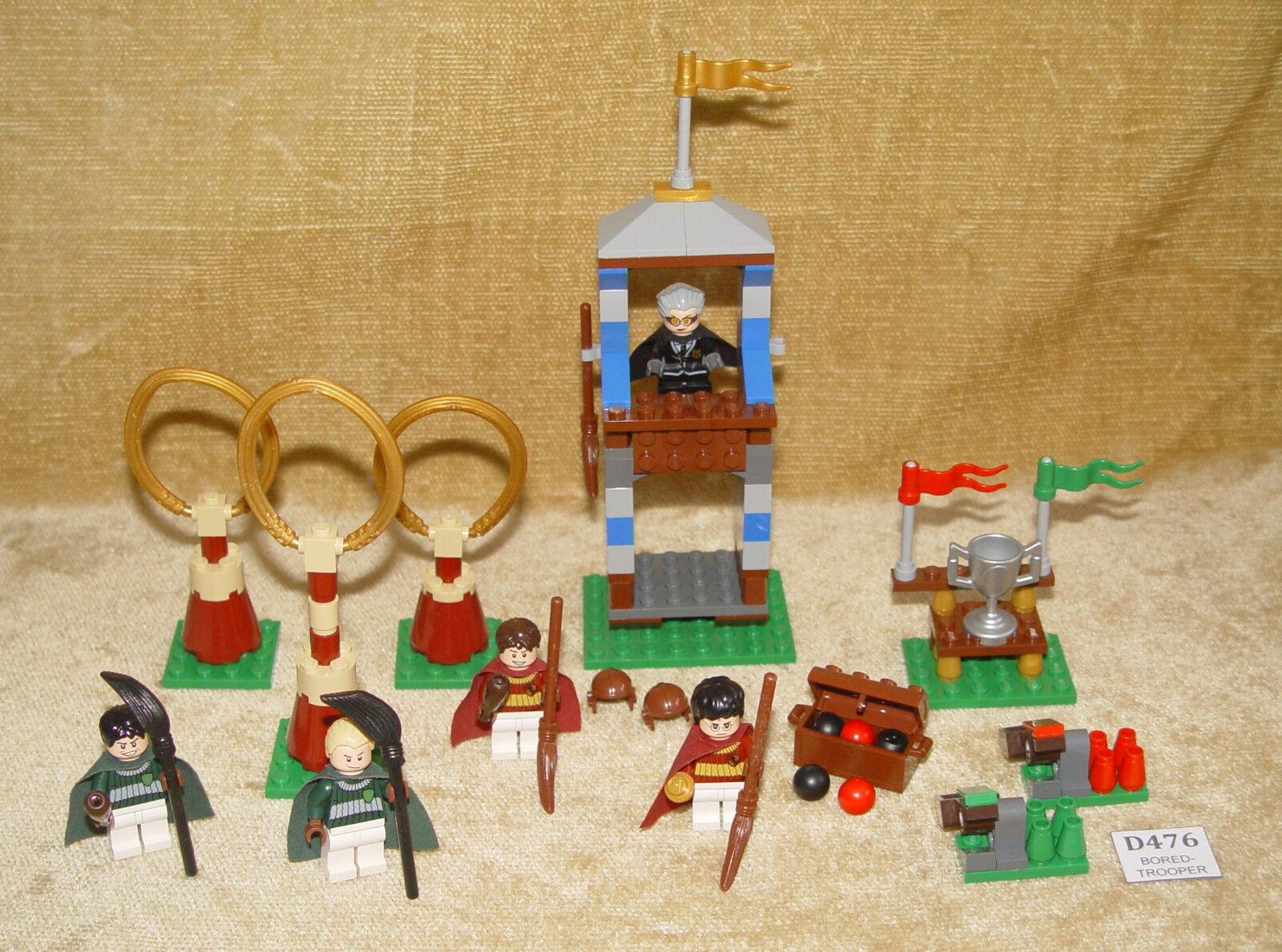 LEGO Sets  Harry Potter  4737-1 Quidditch Match (2010) 100% w all Minifigs HOOCH