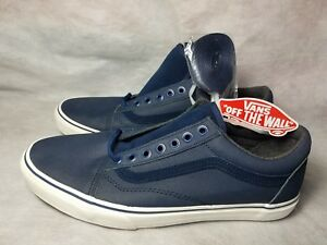 02751dc817d New Vans Old Skool MTE Tec Tuff Leather Dress Blues Suede Skate Shoe ...