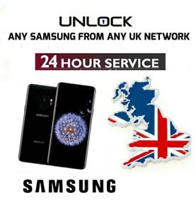innovative design 9bc67 613bd Details about Unlock Code For 3 EE O2 Tesco Orange UK Samsung Galaxy Note  S7 Edge S8 S9 Plus