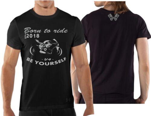 T-shirt maglia per moto DUCATI PANIGALE V4 tshirt racing maglietta bike