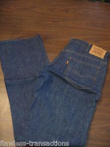Vintage 80's Levi's 517 Orange Tab Jeans miICRFnGZ