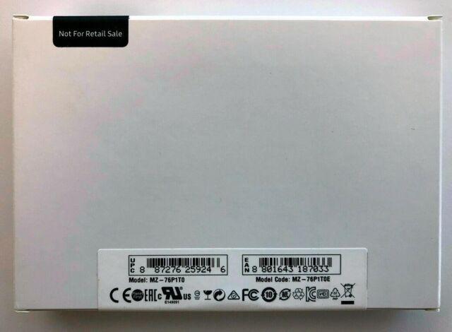 *New Unopened* Samsung 860 Pro 1TB 3D V-NAND SSD (MZ-76P1T0E) 6Gb/s OEM KR