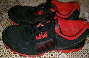 Depresión Verdulero Cívico  Nike Dual Fusion ST2 Mens Running Shoes Black Red Sz 7 454242-004   eBay