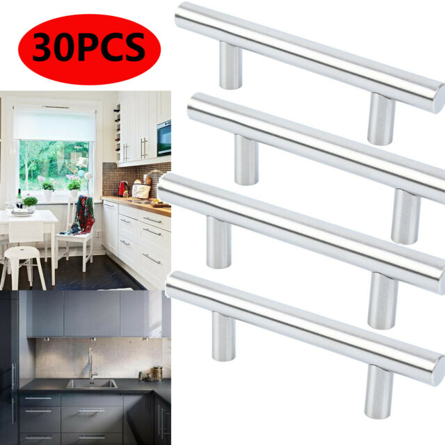 Ravinte 30 Pack 5 Cabinet Pulls Brushed Nickel Stainless Steel Kitchen 30 For Sale Online Ebay