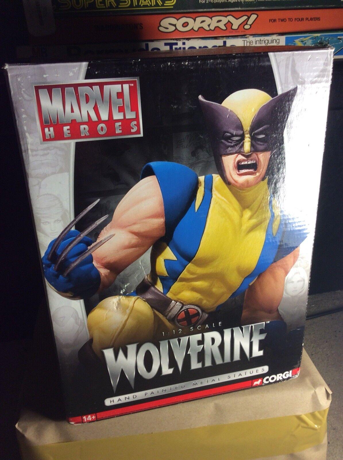 Muy Raro 2006 Corgi Full Metal Marvel Héroes Wolverine Estrellaue limitado número