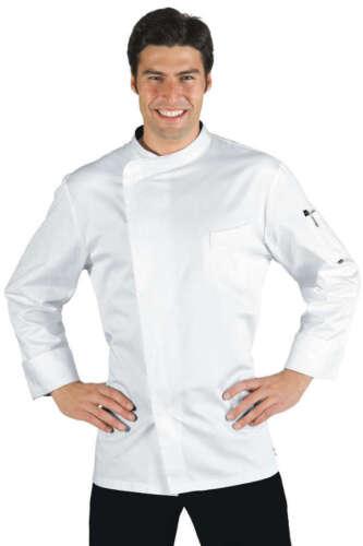 Jacket cook Isaac Bilbao fastenings Chef Jacket Coat butchers