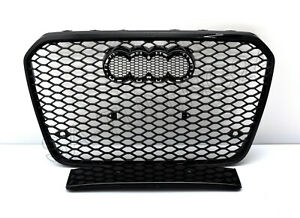 Fuer-Audi-A7-4G-C7-S7-S-line-RS7-Look-Wabengrill-Kuehlergrill-Stosssstange