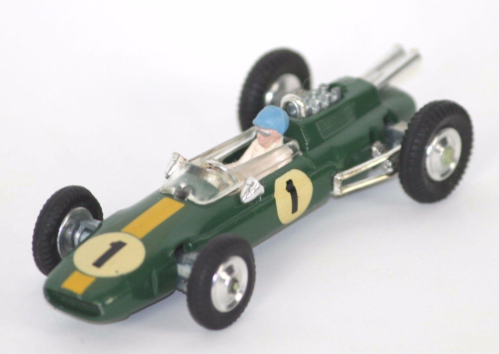 Climax Lotus Formule métal 1 in (environ 2.54 cm). CORGI TOYS. ESC 1 43. ref 155.