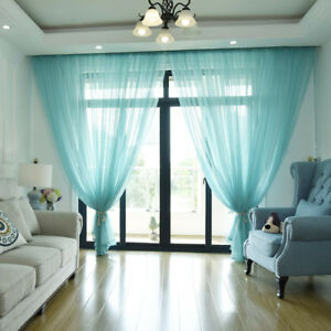 Voile Window Curtains Eyelet
