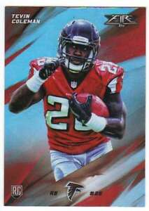 2015-Topps-Fire-Rookies-Silver-Foil-Parallel-RC-48-Tevin-Coleman-Falcons