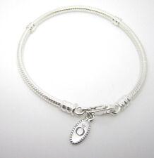 Authentic Pandora #590700HV-19cm Sterling Silver Lobster Clasp Bracelet