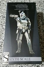 Clone Commander Wolffe STAR WARS SIDESHOW Collectibles 1:6 Scale EXCLUSIVE