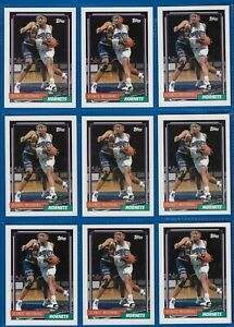 """1992-93 Topps """"ALONZO MOURNING"""" ROOKIE #393~Hall of Fame. Centered MINT"""