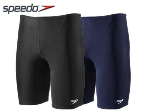 Nuovo di zecca-Speedo Endurance Jammer costume da bagno per Ragazzi-Blu Scuro /& Nero *
