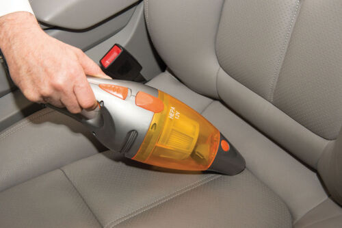 Car Vacuum Cleaner With Hepa Filter Powerful 120W Hepa Filter Long Cord