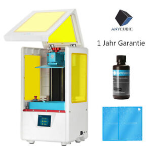 Anycubic-Photon-S-3D-Drucker-SLA-LCD-UV-Matrix-2-8-034-TFT-Hohe-Praezision-500ml-Harz