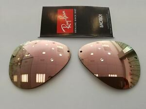 97c0d5a83aa85 LENSES REPLACEMENT RAY-BAN RB3449 001 2Y 59 LENTI ERSATZGLASER   eBay