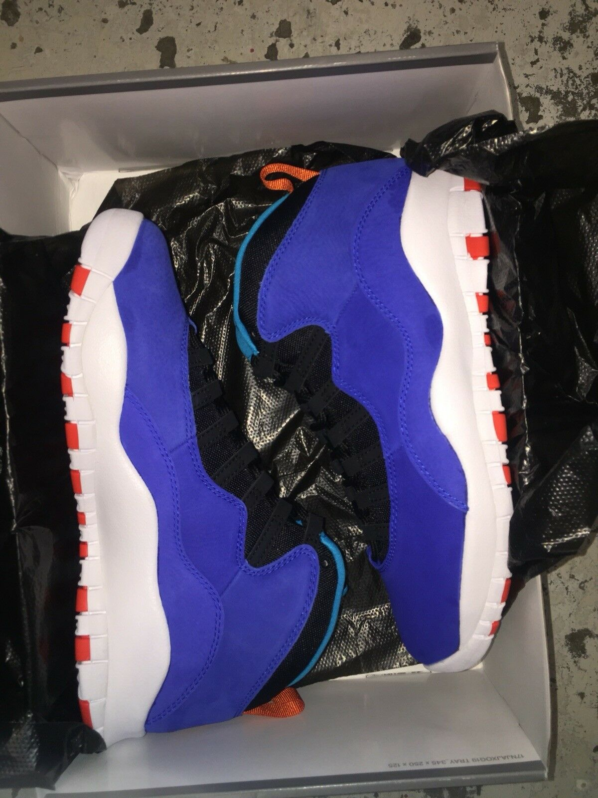 Brand New Men's Retro 10 Tinker Größe 9.5