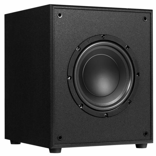 """10/"""" 300W Powered Active Subwoofer W//Front-Firing Woofer HD Home Theater Music"""
