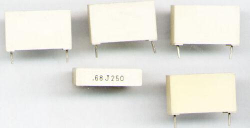 680NF 250V  MKT  KONDENSATOR 5/% RM22,5 MM  FABRIKAT ARCOTRONIC 5x 0,68UF