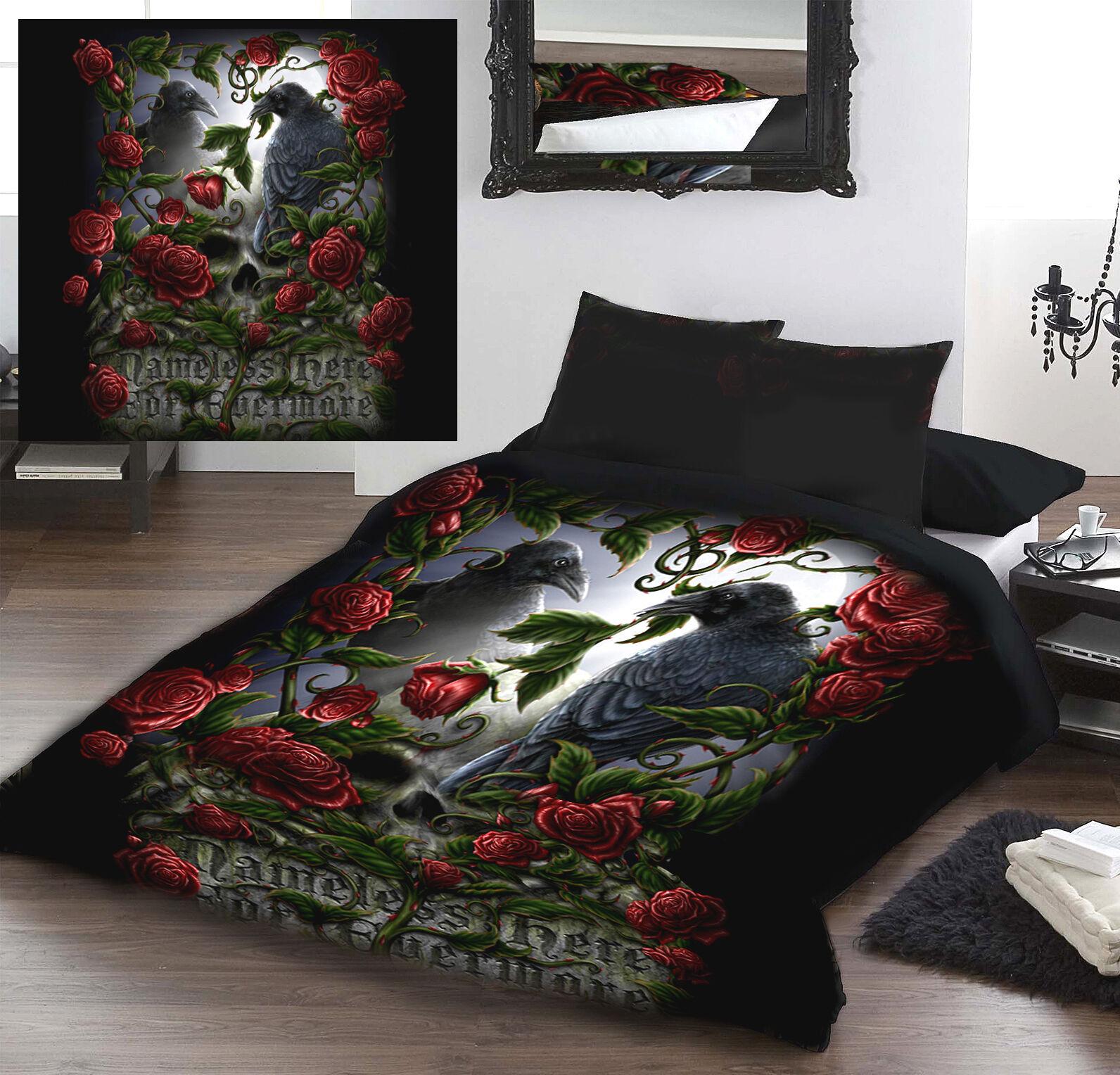 FOREVERMORE - Duvet Cover Set for UK KING   US QUEENGröße BED by LINDA M JONES