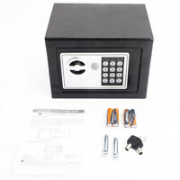 Durable Digital Electronic Safe Box Keypad Lock Gun Home Office Security Us