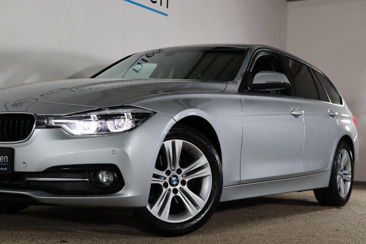 BMW 320d 2,0 Touring Sport Line aut. - billede 3
