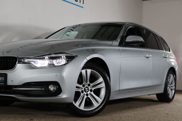 BMW 320d 2,0 Touring Sport Line aut. billede 3