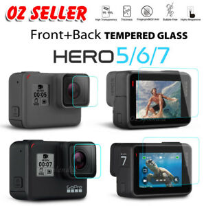 2x-LCD-Screen-Lens-Tempered-Glass-Film-Screen-Protector-For-GoPro-Hero-5-6-7